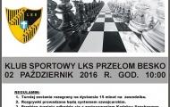 IV Memoriał Szachowy im. Józefa Rybickiego